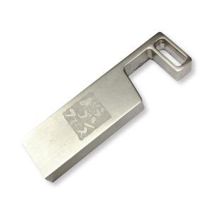 レーザー刻印加工例|USBメモリー